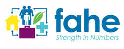 Logo for fahe | Strength in Numbers
